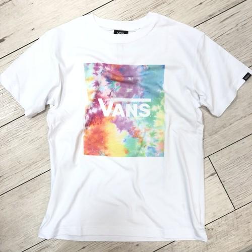VANS(バンズ) グラデーション フライングV Tシャツ VA19HS-MT18 ホワイト