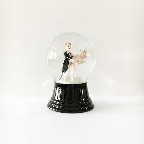 WEDDINGダンス スノードーム PERZY社 M