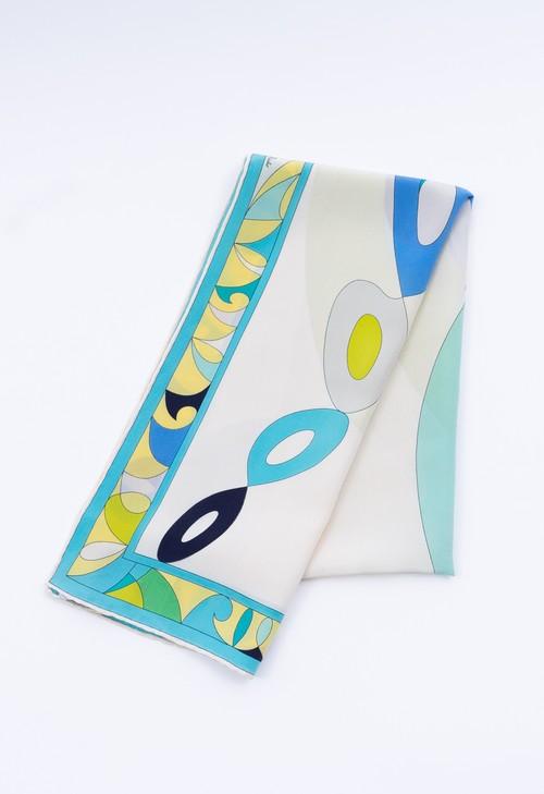 EMILIO PUCCI シルク ロング スカーフ