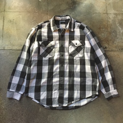 90s Heavy Flannel Shirt / USA