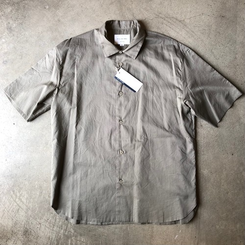 STILL BY HAND スティルバイハンド  袋縫いの半袖シャツ