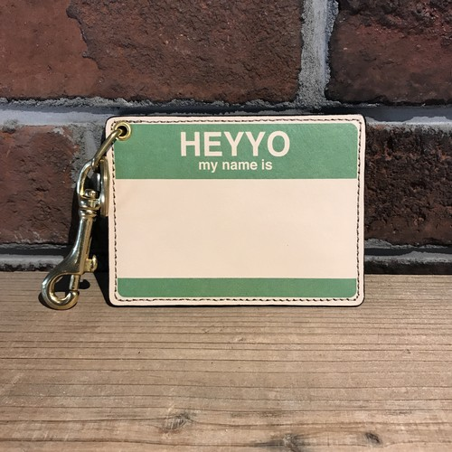 DFA: HEYYO! CARD CASE Limited Color Green