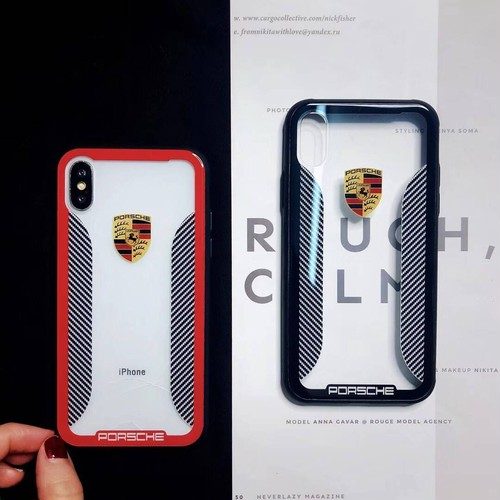 ORIGINAL ポルシェ iPhoneXカバー かっこいい iphone7plus ジャケットケース 頑丈 強化ガラス アイフォン6s プラス 保護ケース  男女通用