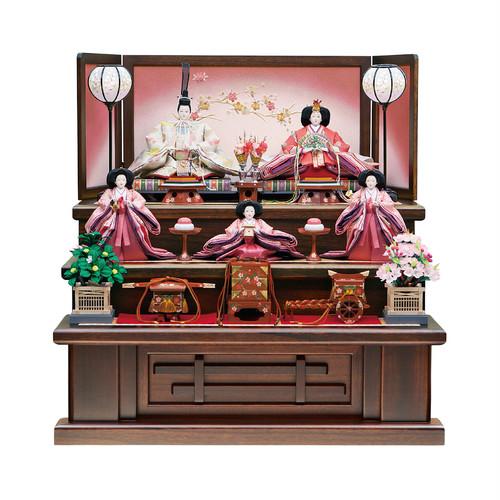 ひな人形<三段飾り>桜花