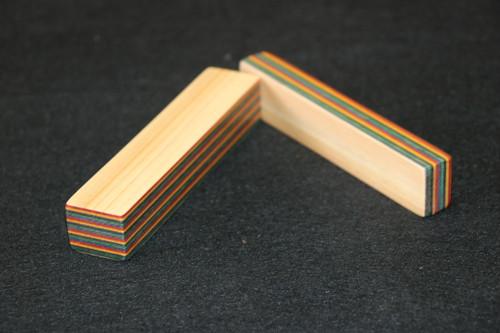 染色桧リウマチ棒