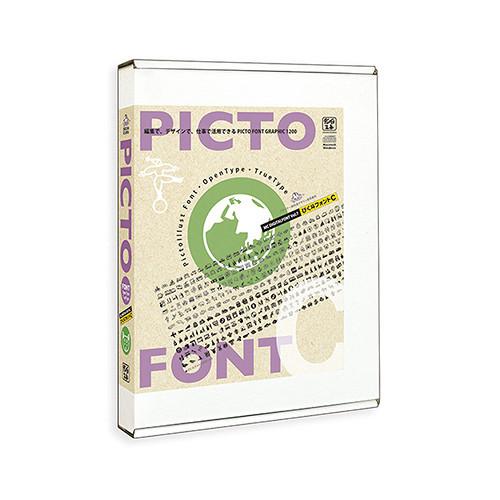 ドライブ,レジャー,動物イメージのピクトフォント集「ぴく斗フォントC」