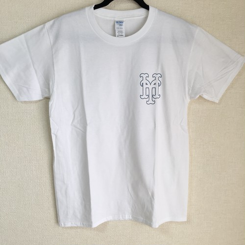 YH Mets T Shirt (WHT×NVY)