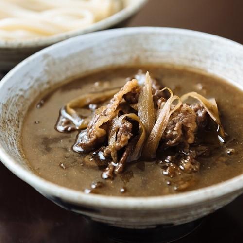 牛と土ごぼうのつけ麺&つけ麺(6食セット)