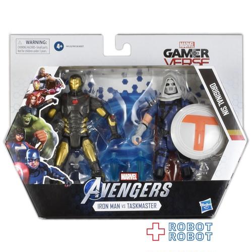 マーベル ゲームバース アイアンマン VS タスクマスター 6インチ アクションフィギュア 2PK
