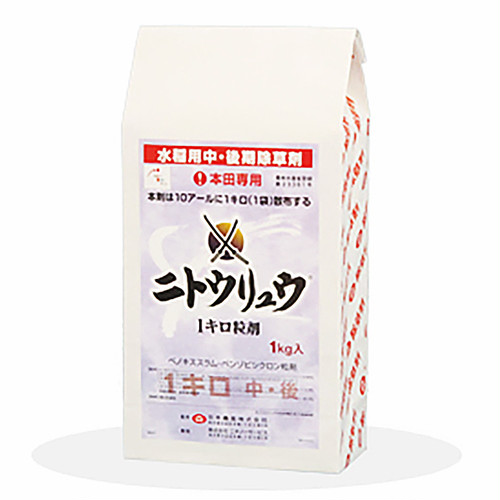 ニトウリュウ1キロ粒剤 1kg 12袋