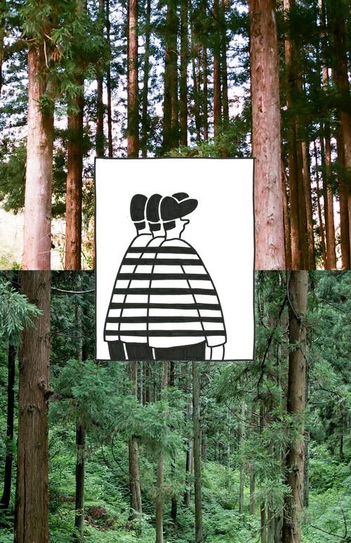 """サラダズ スマホ壁紙 """"forest"""""""