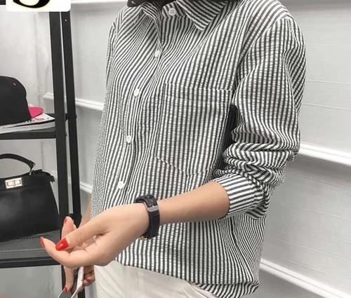 [GOOD]ストライプデザインシャツ 3カラー