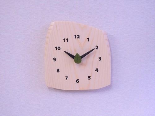 森の掛け時計 ホワイトアッシュ