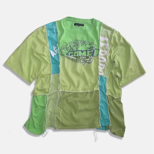 WCH Remake Handlock Patching Tee -Green02
