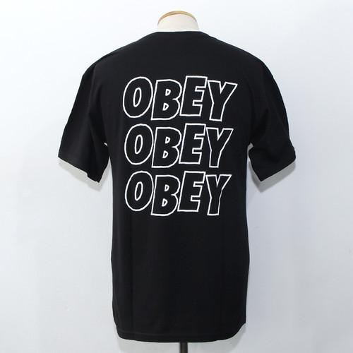 OBEY JUMBLED EYES 2 (BLACK)