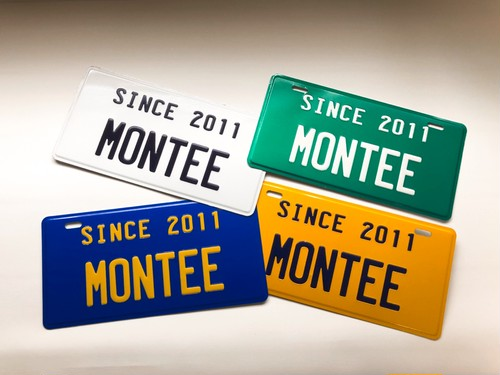 montee  Plate