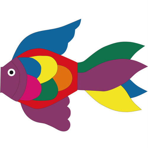 Tropical Fish Windsock Rainbow 50