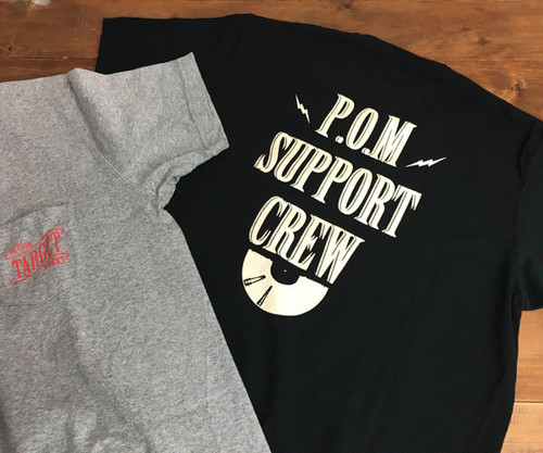 P.O.M SUPPORT CREW Tee