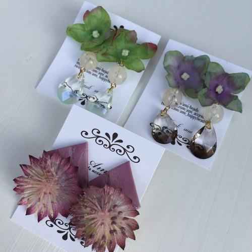 【ami】お花のピアス