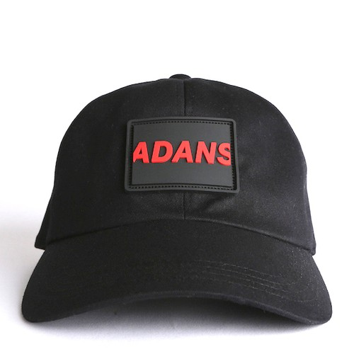 SILICON TAG CAP / BLACK