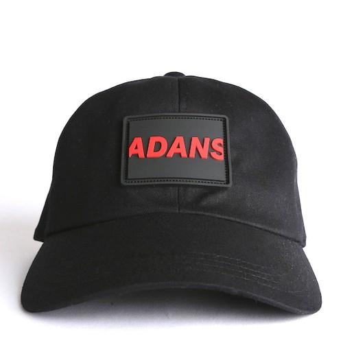 SILICON TAG CAP / BLACK