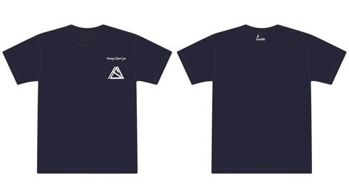 """Harmony & Speed 2 you""pocket T-shirt ネイビー"