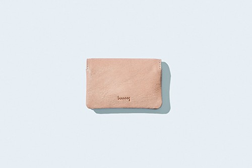 hmny 名刺入れ NT(Natural Tanned-leather)