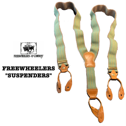 "FREEWHEELERS/フリーホイーラーズ UNION SPECIAL OVERALLS ""HEAVY STRONGHOLD SUSPENDERS"""