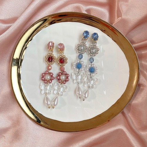 butterfly  petit jewel(pure pink・pure blue)