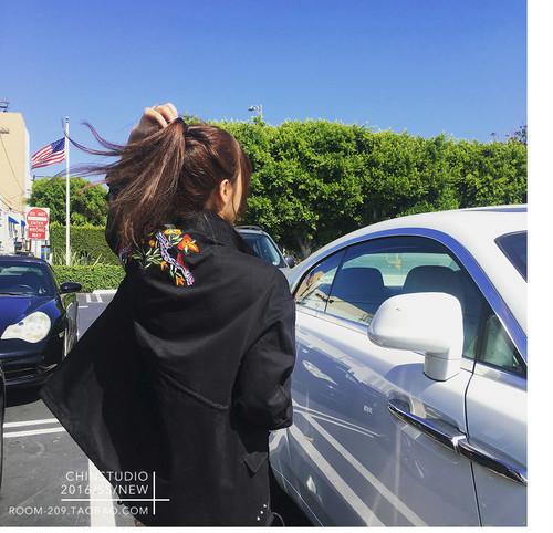 レディース カップル スカジャン 刺繍がカワイイ 上品 表裏両面着 ジャケット u7109-zc4075