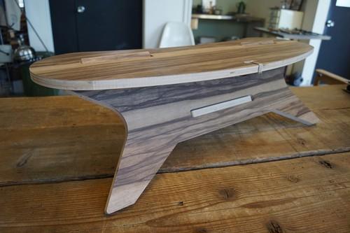 C TABLE Boomerang W800  CAMPOOPARTS C型テーブル ブーメラン 焚き火 テーブル