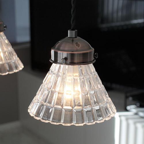 ペンダントライト ランプ Grint(グリント) ガラス LED対応