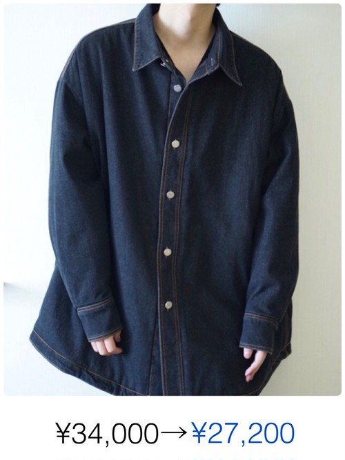 DENIM BIG JACKET