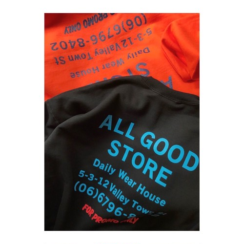 ALL GOOD STORE / FOR PROMO ONLY Sweat