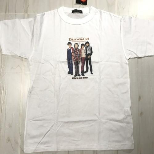 ✝L'Arc〜en〜Ciel ✝00s デッドストック T-shirt 白 ホワイト sizeM