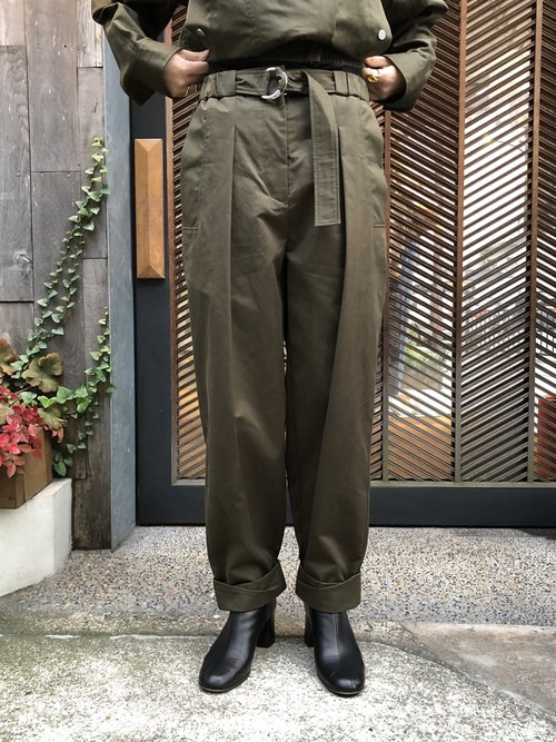 【20AW】3.1Phillip Lim スリーワンフィリップリム / Belted Utility Pants with Rolled Cuff