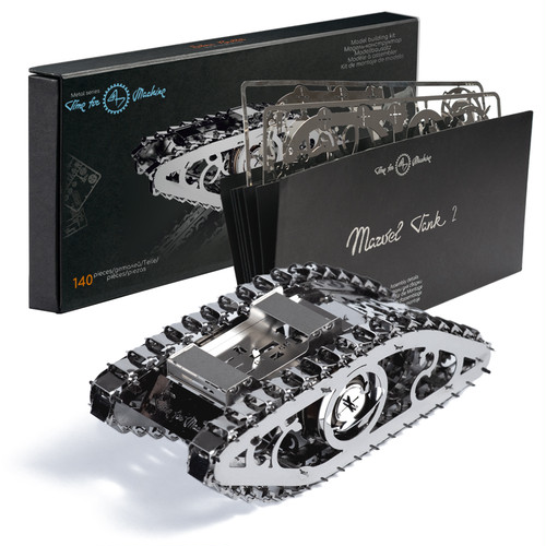 Marvel Tank 2 マーベルタンク2 Time for Machine タイムフォーマシン 組み立てキット ステンレス製
