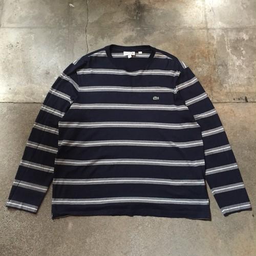 00s LACOSTE Stripe T-Shirt