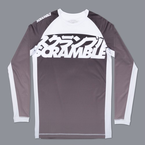 SCRAMBLE RANKED RASHGUARD V3  ブラック