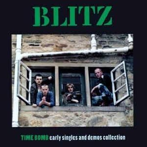 Blitz - Time Bomb Early Singles And Demos LP