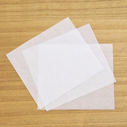 薄葉紙 角留め箱 ロングサイズ用 白 薄紙 包装 日本製 150×170mm 25枚 A034