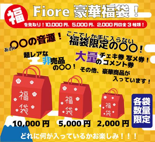 【2,000円】Fiore2019年先取り福袋!