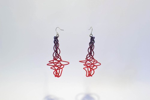 【spiro】dawn ~Tornado earrings  ピアスペア