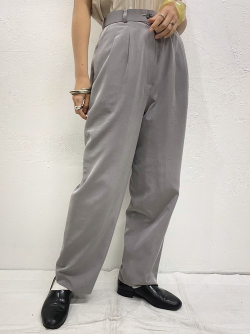 (TOYO) plane tapered pants