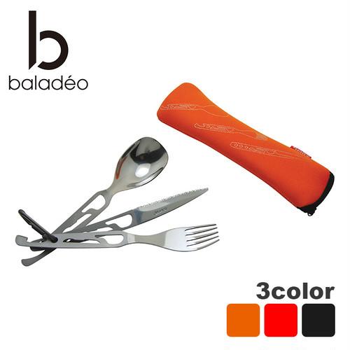 baladeo(バラデオ) 5 functions cutlery set Basecamp bd-011 アウトドア サバイバル キャンプ グッズ カトラリー セット