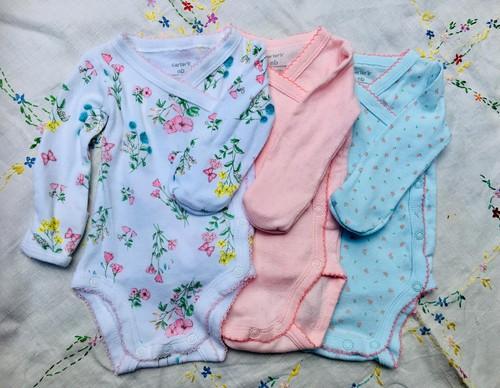 新生児用 Newborn ボディシャツ ロンパース 3枚セット