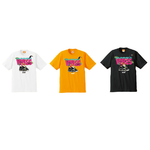 WIZSTAND:SUMMER VIBES TEE S/T