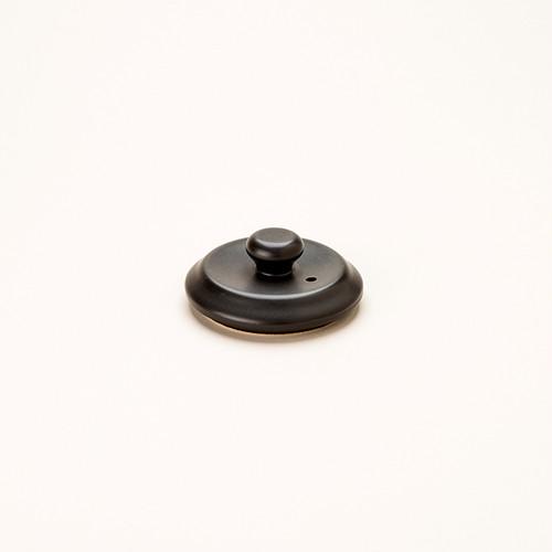 けんこう土瓶ふた 小サイズ 黒色