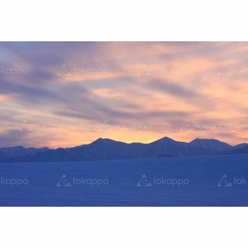 冬の日高山脈