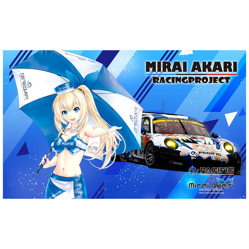 【数量限定】パシフィックレーシングチーム×ミライアカリ/マルチクロス
